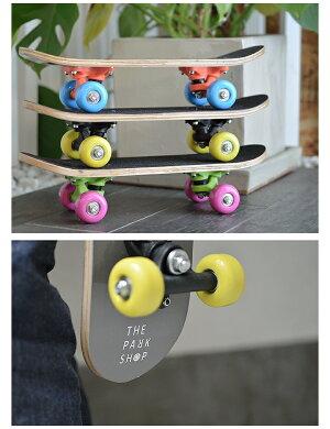 THEPARKSHOP(ザパークショップ)PARKBOYSKATEBOARDパークボーイスケートボードキッズスケボーインテリアプレゼント遊び心を刺激。大人も喜ぶキッズスケボー。デッキコンプリート子供トラックウイール初心者オリジナル