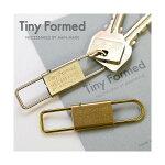 TinyFormed(タイニーフォームド)Tinymetalkeyshackleキーホルダー日本製カラビナ普段よく使う鍵だけをベルトループに付けておきたい!いつも持ち歩ける新しいモノ☆ゴールドロックシルバーフック鍵収納真鍮ブラスメンズプレゼント贈り物ギフト