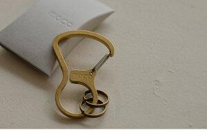 moca(モカ)KARABINERカラビナキーホルダーシンプルだけど存在感。カラビナタイプのキーホルダー。カラビナフック鍵収納日本製ステンレスアウトドアメンズプレゼント贈り物ギフト