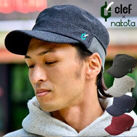 nakota ナコタ × clef クレ エクストラパイル リブ ワークキャップ 帽子 キャップ メンズ レディース