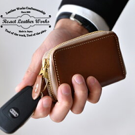 RE.ACT(リアクト)Oil Combi Leather Key Case レザーキーケース 本革 小物 ギフト セール