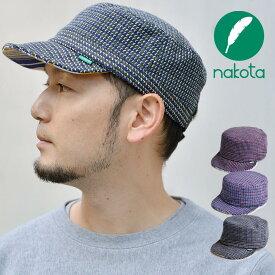 nakota ナコタ HOUNDCHECK ワークキャップ 千鳥格子 帽子 メンズ レディース 大きい 秋 冬