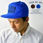 turnmeonターンミーオンALOHA/MONEYフランネルキャップ帽子メンズレディースユニセックス刺繍アロハマネー