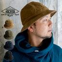HIGHER ハイヤー デッキピケパネル6 帽子 メンズ レディース デニム 日本製 ハット メトロハット