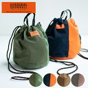 UNIVERSALOVERALL ユニバーサルオーバーオール ナイロンツイルパッチ巾着 バッグ ポーチ メンズ レディース