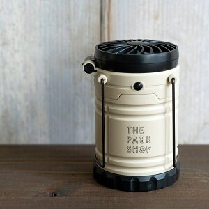 THEPARKSHOPザパークショップPARKBOYFANLANTERNパークボーイファンランタンLEDランタンLEDFAN&LANTERNライト電池式アウトドアキャンプBBQピクニックミニ扇風機付き持ち手付き防災アイテムキッズ涼しい