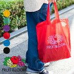 FRUITOFTHELOOMフルーツオブザルームPACABLETOTEBAG鞄カバンバッグパッカブルショッピングバッグサブバッグ買い物袋レジ袋エコバッグ折りたたみコンパクトメンズレディース
