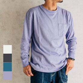 GOHEMP ゴーヘンプ LOW POCKET TEE long sleeve Tシャツ ロンT 長袖 無地 メンズ レディース 春 夏 秋 冬