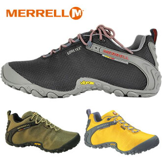 """Women 's"" shoe with breathable release (Merrell) MERRELL CHAMELEON 2 STORM GORE-TEX XCR Chameleon 2 storm Goretex black olive yellow waterproof and Mouret. Shoes outdoors sneakers climbing shop"
