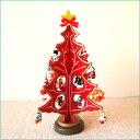 楽天市場 クリスマスツリー フラット レッド Lala Forest 楽天市場店