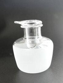 【Puti】プチボトル ミニ醤油挿し 30ml スモーク/くもりガラス/しょうゆさし/クリーマー/ガラス製/耐熱ガラス