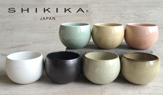 【SHIKIKA】 ころころ 小 煎茶カップ/コップ/湯のみ/コロコロカップ/陶器製/日本製 190ml
