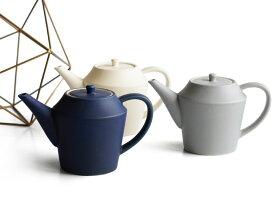 【作山窯-SAKUZAN-】SAKUZAN DAYS Sara ティーポット 520ml/ステンレス茶こし付き/サラ/グレイ/ネイビー/クリーム/カフェ/磁器/日本製/陶器