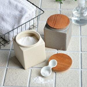 【BS】キャニスター BS05 チーク 角 キューブ 陶器 保存容器 カフェ アンティーク風 ロロ LOLO 日本製