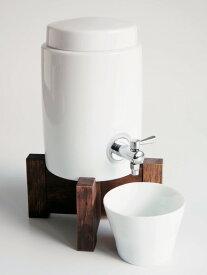 【SHIKIKA】焼酎サーバー 白磁 陶器 日本製