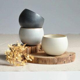 【SHIKIKA】ころころ 小 煎茶カップ コップ 湯のみ 陶器製 日本製 180ml ロロ LOLO