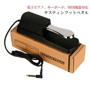 ピアノペダル ダンパーペダル ヤマハ カシオ などの 電子キーボード 電子ピアノ MIDI機器に サスティンフットペダル 極性切替スイッチ◇ALW-EP-PEDAL01 | サスティンペダル ペダル ピアノ キーボ