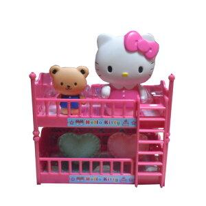 キティちゃん ままごと 2段ベット 女の子 玩具 コンパクトサイズ Hello Kitty おもちゃ ママゴト 知育玩具 ハローキティ