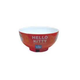 キティー 子供用食器 赤色 女の子向け お茶碗 ハローキティー 塗り汁椀 レッド色 キティーちゃん おわん