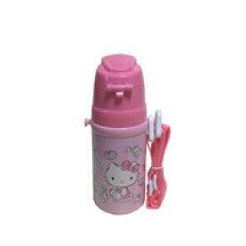 キャラクター 女の子向き 水筒 キティー ステンレス直飲みボトル ハロー キティー ステンレス水筒 直飲み ピンク色 水分補給 プール アウトドア