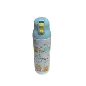 すみっこぐらし 直飲み水筒 すみっコぐらし ステンレス水筒 すみっこ 軽量水筒 ねこ とかげ 水筒 ワンプッシュ 保冷