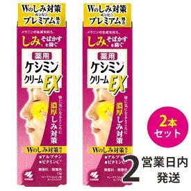 ケシミンクリームEX 2本(12g×2) 小林製薬 送料無料 BB 【定形外郵便】