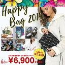 《大好評につき再販★》Colleen Wicox 2019 HAPPY BAG 福袋 6点セット トートバッグ キャンバス ビニールバッグ ミニ…