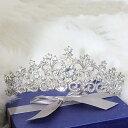 結婚式 ウェデイング ヘッドドレス ブライダル ティアラ カチューシャ 愛の季節女王様ティアラ