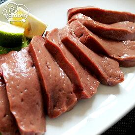 青森県産牛レバー約100g(加熱用) 新鮮な国産牛レバーです!塩コショウで美味しい!鮮度には自信がありますが加熱してお召し上がりください(冷凍真空)
