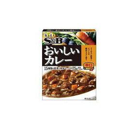 S&B エスビー おいしいカレー 辛口 180g×6個[ボール販売]