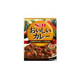 S&B エスビー おいしいカレー 大辛 180g×6個[ボール販売]
