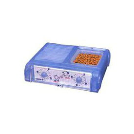 YAMASA ヤマサ ペット自動給餌器 わんにゃんぐるめ クリアブルー CD-400 CBL [CD400 CBL]