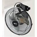 【数量限定】【送料無料】 広電 25cmアルミ羽根工業扇風機 壁掛型 KSF2551-K ブラック