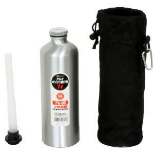 メルテック [大自工業] アルミガソリン携行缶 1L FK-06