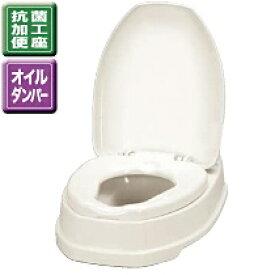 アロン化成 安寿 腰掛便座 簡易設置式洋式トイレ サニタリエース OD両用式 533-303 アイボリー