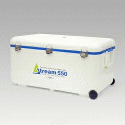 伸和 SHINWA クーラーボックス レジャークーラー ストリーム 550 55L ホワイト