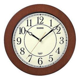 カシオ 壁掛時計 濃茶木 IQ-131-5JF