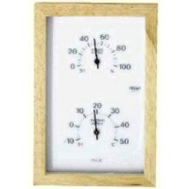 クレセル 温度計・湿度計CR-660 W 壁掛・卓上両用