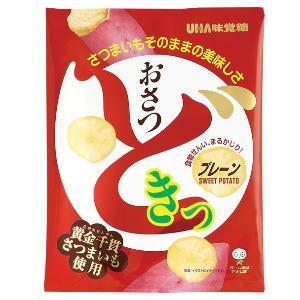 4箱まで1個口 UHA味覚糖 おさつどきっ プレーン味 65g×10個[ケース販売]