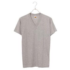 グンゼ GTホーキンス VネックTシャツ 2枚組 HK10152 グレー L