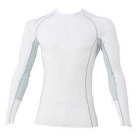 グラディエーター コンプレッションシャツ ハイブリッドパワーサポート G1108 ホワイト M