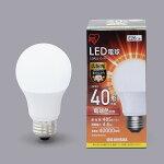 アイリスオーヤマLED電球E26広配光40形相当電球色LDA5L-G-4T4