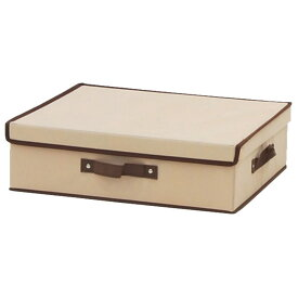 【メーカー直送 代引不可】エイ・アイ・エス ベッド下収納BOX用インナーBOX アイボリー BSB-01BFA IV