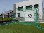 【大型便・時間指定不可】[2梱包]南栄工業ゴルフターゲット返球・大型据置式GTR-300ゴルフネット