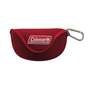 コールマン サングラスケースソフト レッド CO08-2