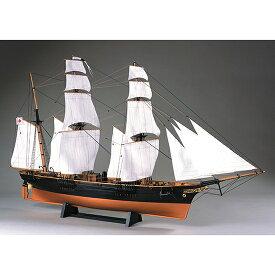 ウッディジョー 木製帆船模型 1/75 咸臨丸 [帆付] レーザーカット加工