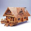 ウッディジョー 木製模型 1/24 ログハウス