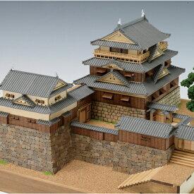 ウッディジョー 木製建築模型 1/150 松山城