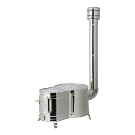ホンマ製作所 薪ストーブ ステンレス 時計1型ストーブセット ASS-60
