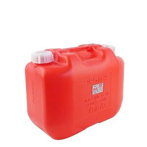 灯油缶 10L ノズル無し 赤 ポリ缶 ポリタンク